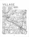 Village T70N-R11W, Van Buren County 1982 Published by R. C. Booth Enterprises